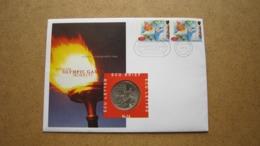 ECU Brief / Letter / Lettre ( N° 16 ) OLYMPISCHE SPELEN '96 ( Details > Zie Foto's ) ! - Pays-Bas