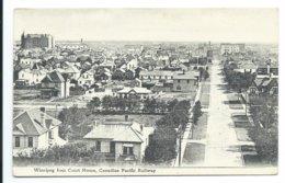Winnipeg From Court House, Canadian Pacific Railway - Winnipeg
