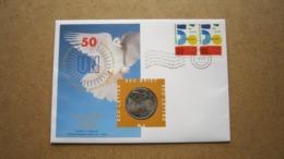 ECU Brief / Letter / Lettre ( N° 6 ) 50 JAAR VERENIGDE NATIES - UN ( Details > Zie Foto's ) ! - Pays-Bas