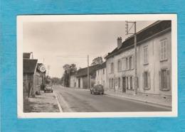 Carte Photo De Piney. - Rue De La Chapelle. - Autres Communes