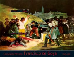 Togo 2014  Paintings Francisko De Goya - Togo (1960-...)