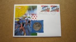 ECU Brief / Letter / Lettre ( N° 15 ) TOUR DE FRANCE '96 ( Details > Zie Foto's ) ! - Sin Clasificación