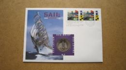 ECU Brief / Letter / Lettre ( N° 7 ) SAIL 95 AMSTERDAM ( Details > Zie Foto's ) ! - Pays-Bas