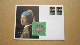 ECU Brief / Letter / Lettre ( N° 11 ) JOHANNES VERMEER ( Details > Zie Foto's ) ! - Nederland