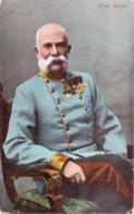 Alte AK  KAISER FRANZ JOSEF - Österreich  - Gelaufen 1908 - Autres