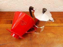 Filtre Melitta Cafetiere Metal - Cucharas Mezcladoras