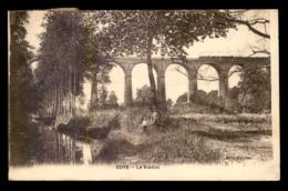 60 - COYE - TRAIN SUR LE VIADUC DE CHEMIN DE FER - Frankrijk