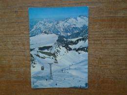 Suisse , Télé-cabine Col Des Mosses , Lac Lioson , Pic Chaussy - VD Vaud