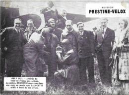 PHOTO PHOTOGRAPHIE DE PRESSE EDITIONS PRESTINE-VELOX AVION AVIATION ORLY 1931 TOUR DE FRANCE DES AVIONS REGINENSI - LALO - Photographs