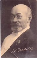 Seltene Alte AK  LUDWIK LEJZER ZAMENHOF / Russland / Polen / Begründer Esperanto - Gedruckt 1915 Ca. - Esperanto