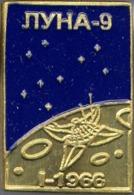 450-3 Space Russian Pin. Luna-9. Soviet Moon Program - Space