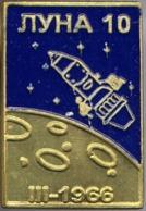 450-4 Space Russian Pin. Luna-10. Soviet Moon Program - Space