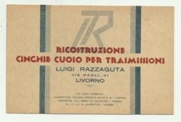 LIVORNO - RICOSTRUZIONE CINGHIE CUOIO PER TRASMISSIONI  - NV FP - Livorno