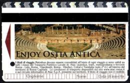 AMPHITHEATER - BIGLIETTO AUTOBUS ROMA - ATAC - METREBUS - ENJOY OSTIA ANTICA - Autobus