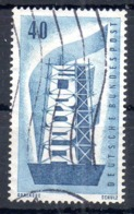 ALLEMAGNE. N°118 De 1956 Oblitéré. Europa'56. - Europa-CEPT
