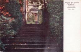 """Seltene ALTE  AK  EL VERDUGO / """"Drehwa - Film"""" München / Bamberg - Strassenbild  - Ca. 1920 Gedruckt - Autres"""