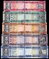 South Sudan Del Sur Set 5 10 20 50 100 Pounds 2015 - 2017 Pick 6 7 8 9 10 New UNC - Sudán Del Sur