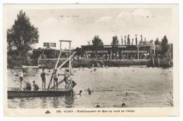 VICHY Etablissement De Bain Au Bord De L'Allier - Vichy