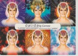 """19/ 9 / 295. ). DALIDA.  BY. CERRONE. """" LAISSEZ - MOI  DANSER.  - C P M. - Entertainers"""