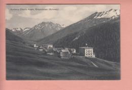 OUDE POSTKAART ZWITSERLAND - SCHWEIZ -     KURHAUS CRESTA - AVERS - GR Graubünden