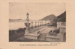 *** BRESIL *** RIO DE JANEIRO  Avenue Atlantica Cobocabana- Unused  TTB - Rio De Janeiro