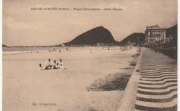 *** BRESIL *** RIO DE JANEIRO  Hotel Palace Plage  Cobocabana - Unused  TTB - Rio De Janeiro
