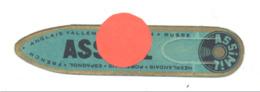 """Marque-pages Publicitaire  """" ASSIMIL """" Bleu...vert - Apprendre Les Lanues,... (b260) - Marque-Pages"""