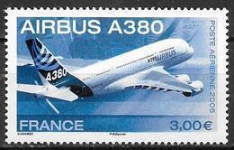 France 2006 Poste Aérienne N° 69, Airbus A380, à La Faciale - Poste Aérienne