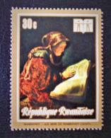 ANNEE INTERNATIONALE DU LIVRE - MERE DE REMBRANDT LISANT 1973 - OBLITERE - YT 512 - MI 550A - 1970-79: Oblitérés