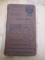 Guide Michelin 1926 Belgique Luxembourg - Prácticos