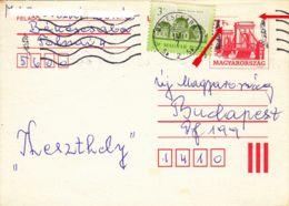 HONGRIE - 1992 - Entier Postal - Postal Stationery