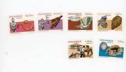 Mozambique-1981-Recherche    Archéologique-YT 826/31***mnh - Archaeology