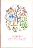 Herzlichen Geburtstagsgruß 1941 Kinder Musizieren Und Tanzen - Geburtstag