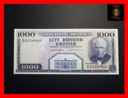 ICELAND 1.000  1000  Kronur  L. 29.03.1961  P. 46  UNC - Iceland