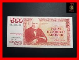 ICELAND 500 Kronur  L. 29.03.1961  P. 51  VF ++ - IJsland