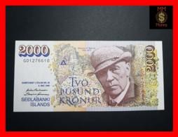 ICELAND 2.000 2000 Kronur  L. 5.05.1986  P. 57  XF\AU - Iceland