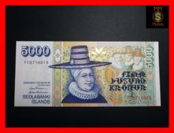ICELAND 5.000 5000 Kronur  L. 22.05.2001  P. 60 UNC - IJsland