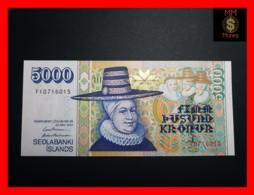ICELAND 5.000 5000 Kronur  L. 22.05.2001  P. 60 UNC - Iceland