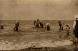 35-ST-LUNAIRE 1911...BELLE CARTE PHOTO ANIMEE - Saint-Lunaire