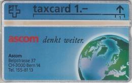 SUISSE - PHONE CARD - TAXCARD-PRIVÉE ***  ASCOM  *** - Schweiz