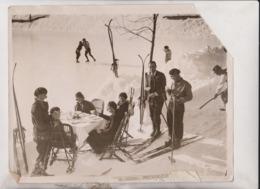 SEE CORNER MURRES SWISS SUIZA ZWITSERLAND  WINTER SPORTS 25*20CM Fonds Victor FORBIN 1864-1947 - Sin Clasificación