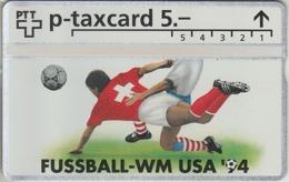 SUISSE - PHONE CARD - TAXCARD-PRIVÉE ***  FOOT - USA 1994  *** - Schweiz