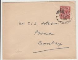 Aden / G.B. Stamps / Paquebot Mail - Francobolli