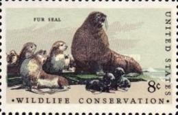 United-States - Wildlife Conservation   -1972 - Etats-Unis