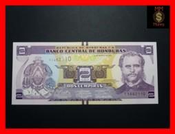 HONDURAS 2 Lempiras 1.3.2012  P.  97  UNC - Honduras