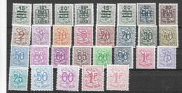 België  N° 849/859 Met Verschillende Kleuren  Xx Postfris - Nuevos