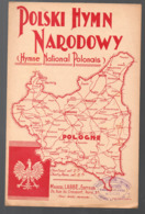 "Partition ""petit Format"" Polski Hymn Nadodowy  Hymne National Polonais  (MPA PF 122) - Autres"