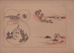Art Asiatique/ Le Japon Artistique /Siegfried BING/ Gravure/ Charles GILLOT/Marpon & Flammarion/Paris/1888-1891   JAP32 - Estampes & Gravures