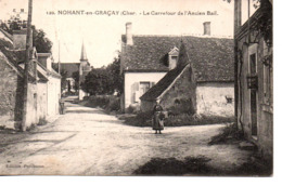 Cher : Nohant En Graçay : Le Carrefour De L'Ancien Bail - France