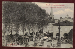 Saint-Girons Place De La Mairie - Marché - Champ De Mars - Ariège 09200 -  Saint Girons Canton De Couserans Ouest - Saint Girons